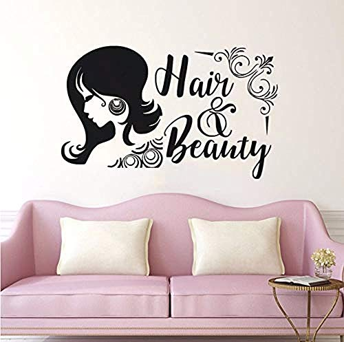 Qixidan Hair & Beauty Wandaufkleber Beauty Salon