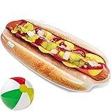 Luftmatratze aufblasbarer Hot Dog