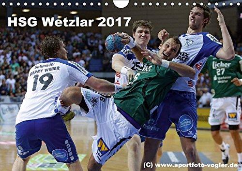 HSG Wetzlar - Handball Bundesliga 2017 (Wandkalender 2017 DIN A4 quer): HSG Wetzlar, Handball Bundesliga, Saison 2013/2014 (Monatskalender, 14 Seiten )