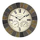 Outside In Designs 5065031 – Clock + Thermometer stongate (Garden & Outdoors)