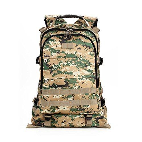 Tarnung Rucksack Im Freien Bergsteigen Tasche Reise Schulter Tasche Junglecamouflage