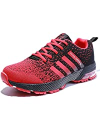Women Men Casual Sports Running Shoes Air Trainers Jogging Fitness Shock Absorbing Gym Athletic Sneakers