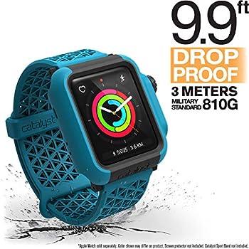 Catalyst Etui de Protection Coque Apple Watch 42 mm Série 3 et Série 2 Anti Rayures