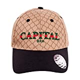 Capital Bra Strapback Cap Gold