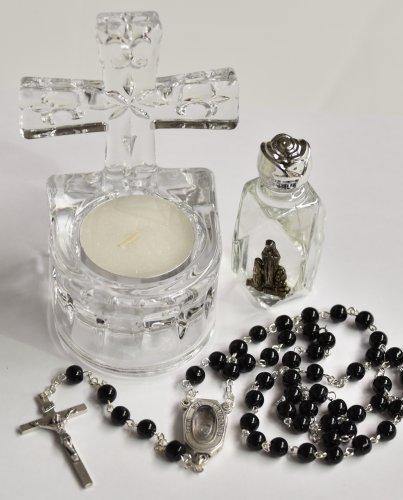 Medaglia Miracolosa Rosario portachiavi e magnete da