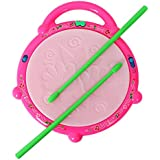 Oongly Flash Drum With 3D Multi Colour Light And Music For Kids