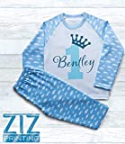 Unisex Personalised Birthday Pyjamas, Birthday Outfit, Baby Birthday, Boy Birthday, Birthday T-Shirt, Birthday Crown, First Birthday, Gift