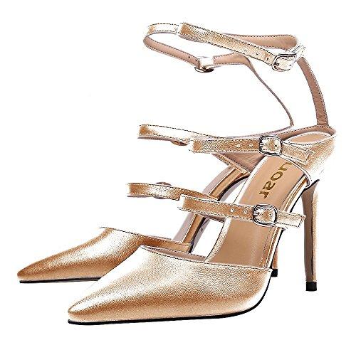 Guoar - Scarpe chiuse Donna Oro (oro)