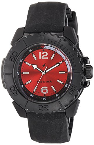 Fastrack Analog Red Dial Men's Watch - 38020PP02