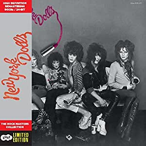 New York Dolls - Cardboard Sleeve - High-Definition CD Deluxe Vinyl Replica