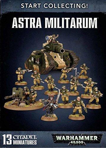 Games Workshop 99120105068Jetzt mit dem Sammeln starten Astra Militarum Miniatur