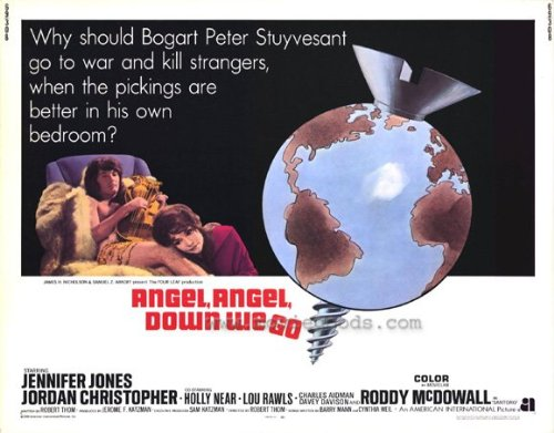 Angel, Angel, Down We Go Plakat Movie Poster (11 x 14 Inches - 28cm x 36cm) (1969)