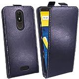 cofi1453 Klapptasche Schutztasche Schutzhülle kompatibel mit Wiko View Lite Flip Tasche Hülle Zubehör Etui in Schwarz Tasche Hülle