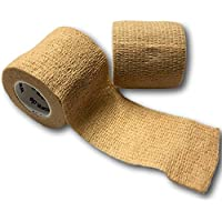 LisaCare Fixierbinde 5cmx4,5m | 2er-Set Hautfarbe | Kohäsive Bandage | Wundverband | Pflasterverband | elastisch... preisvergleich bei billige-tabletten.eu