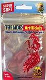 30 künstliche rote Zuckmückenlarven Mückenlarven Forellenköder Behr 2,8cm