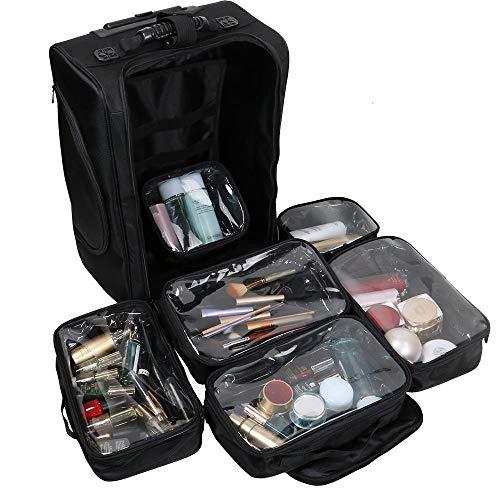 Maleta Maquillaje Profesional Nylon Neceser Organizaodor
