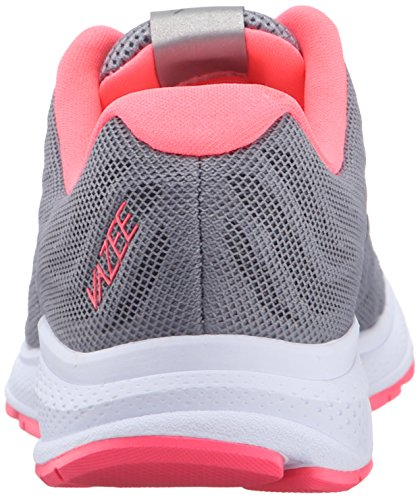 New Balance Women's Vazee Rush v2 Running Shoe, Silver/Pink, 10 B US Silver/Pink