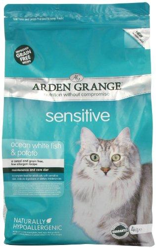 Arden Grange Dry Cat Food Adult Sensitive 4 Kg
