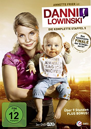 Danni Lowinski - Die komplette Staffel 5 [3 DVDs] (Becker Die Komplette Serie Dvd)