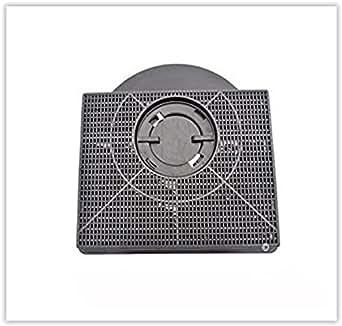 Filtre charbon rectangulaire fat303 type 303 hotte faure hit600x