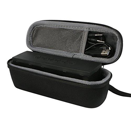 für Anker SoundCore 1 / 2 Drahtloser Bluetooth Handy-Lautsprecher weich Reise Tragen Lagerung Fall taschen Hülle passen Ladegerät Kabel Adapter von co2CREA