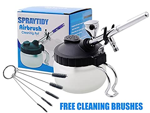 Spraytidy Professional 3 in 1 Airbrush Cleaning Station | Full