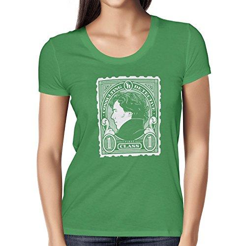 TEXLAB - Sherlock Consulting Detective - Damen T-Shirt Grün