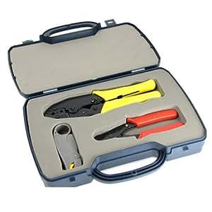bnc crimping tool kit for cctv crimper cutter and camera photo. Black Bedroom Furniture Sets. Home Design Ideas