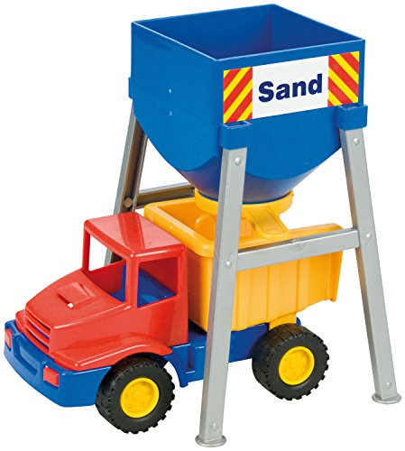 SIMM Spielwaren Lena 01251 - Mini Compact Silo avec véhicule, env. 24 cm, 2 assortis