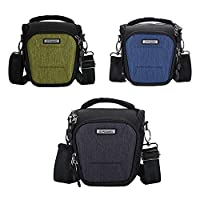 PROWELL-1 camera holster shoulder bag prowell dc22355 carrying feature shell superior protection multiple pockets accessories