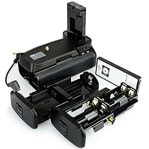 DSTE® Pro IR Remote BG-2F Vertical Battery Grip for Nikon D3100 D3200 SLR Digital Camera as EN-EL14