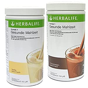 Herbalife 2 x 550g Formula 1 Shake, Geschmacksrichtung nach Wunsch
