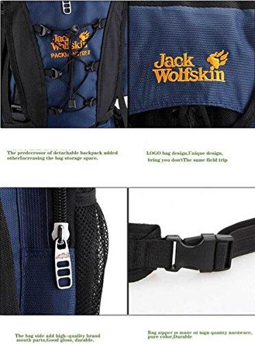 Bergsteigen Clmbing Tasche Leichtes Faltbares Rucksack Ultralight Reise Wandern Camping Outdoor Rucksack Sport Fahrrad Fahrrad Radfahren Daypack Rucksack Für Bergsteiger Black