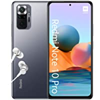 "Xiaomi Redmi Note 10 Pro Smartphone + Kopfhörer (16,94cm (6,67"") AMOLED Display 120Hz, 6GB+128GB Speicher, 108MP Quad…"