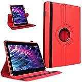 UC-Express Tablet Hülle für Medion Lifetab P9702 X10302 P10400 P10506 Tasche Cover Case Rot