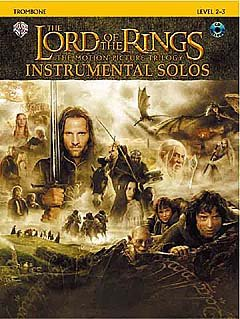 LORD OF THE RINGS TRILOGY INSTRUMENTAL SOLOS - arrangiert für Posaune - mit CD [Noten / Sheetmusic] Komponist: SHORE HOWARD