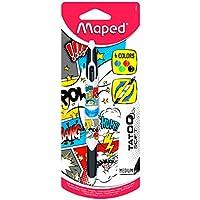 Maped Twin Tip Tatoo Teen 229441 Stylo 4 Couleurs décor Comics