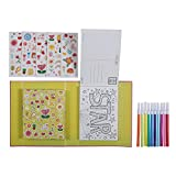 Colourful Postcard Making Kit. Colour and Create Postcards Activity Craft Set for Girls. Great travel activity packs for kids / Activity Book. Great Gifts for Girls 6 years old - Tiger Tribe - amazon.co.uk