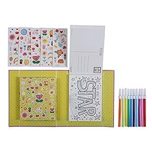 Tiger Tribe 14-002 Imagen para Colorear Individual Libro y página para Colorear - Libros y páginas para Colorear (Imagen para Colorear Individual, Niño, Niño/niña, 5 año(s))