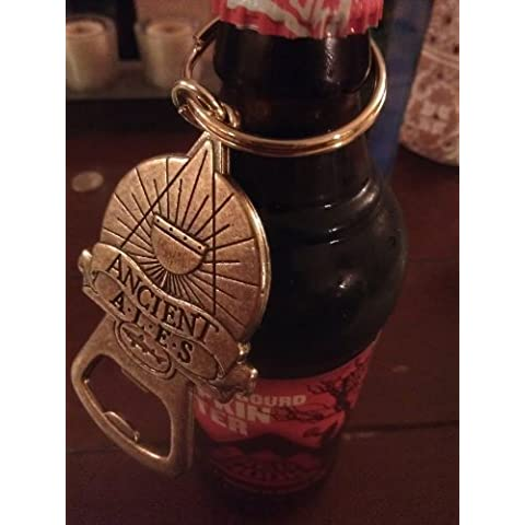 Dogfish Head Ancient Ales Thick Bronze Keychain Bottle Opener by Dogfish Head Brewery