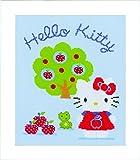 Vervaco PN-0150488 VER Zählmusterpackung Hello Kitty mit Apfelbaum Ai