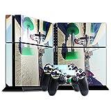 Extreme Sport 052, Skateboard, Designfolie Sticker Skin Aufkleber Schutzfolie mit Farbenfrohem Design für Playstation 4 CUH 1200