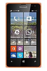 Microsoft Lumia 435 Uk Sim-free Smartphone - Orange (Windows)