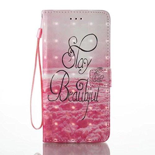 Cover iPhone 7 Plus,iPhone 8 Plus Coque,Valenth 3D Multi-parrow Wallet Leather Etui avec embouts pour carte d'identité [Stand Feature] pour iPhone 8 Plus / iPhone 7 Plus 10#