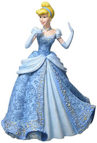 Disney 4058288 Showcase Couture de Force Cinderella Stone Resin Figurine, multicolour, 16 x 14 x 21 cm (Cinderella Kleid Handgefertigtes)