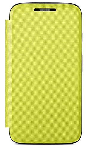 Motorola Flip Shell Hülle Case Cover für Moto G Smartphone - Lemon-Lime