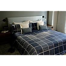 Juego de sábanas estampado INDIGO (para cama de 90x190/200)