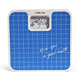 #7: Belita Bps-M-1101 Square Display Large Surface Personal Analog Weighing Scale Upto 120 Kg