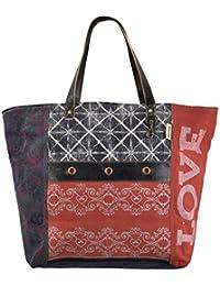 c1d355da536e5 Sunsa Handtasche Damen XXL Badetasche Tasche Shopper Schultertasche große  Sporttasche Handgelenktasche Strandtasche Damentasche…