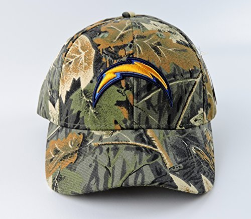 san-diego-chargers-camoflage-bark-leaf-cap-hat-unisex-adjustable-closure-new-by-leaf-cap
